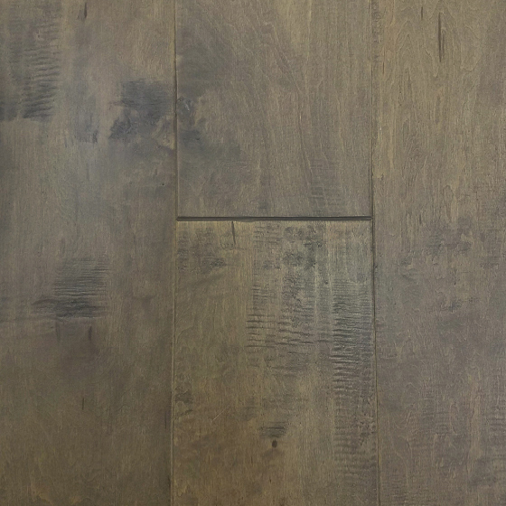 "1/2"" x 7 1/2\"" Handscraped Maple Flooring - Nightingale"