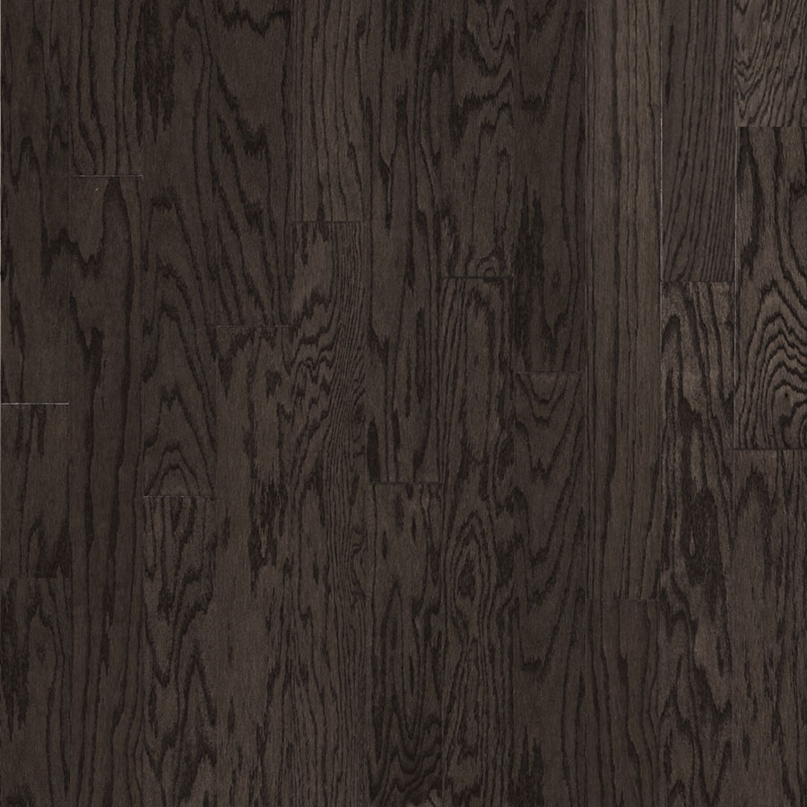 "3/8"" x 4 3/4"" Red Oak Charcoal Grey (Click Lock)"