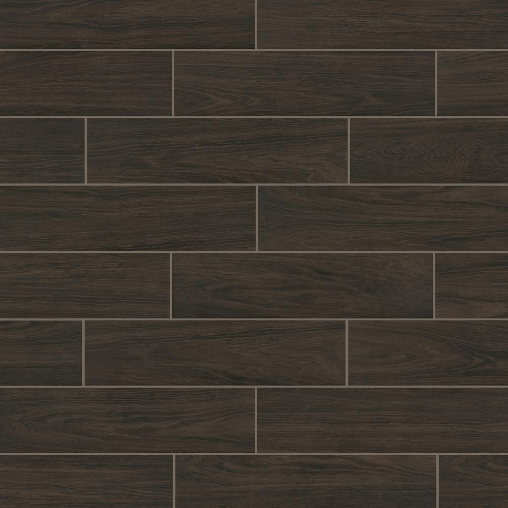 Burlington Walnut 6x24 Porcelain Tile