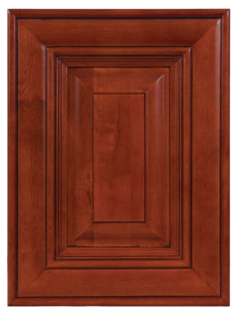 Cherry kitchen cabinets w dark glaze homeowners discount for Cheap kitchen cabinets wilmington nc