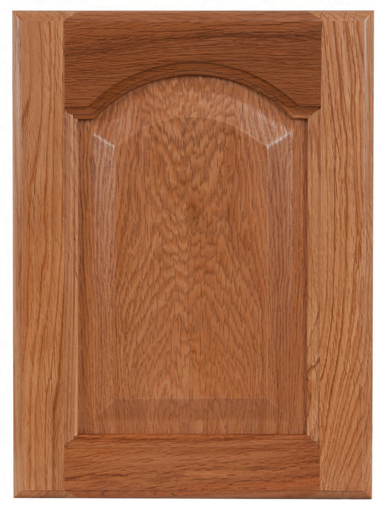 Oak Cathedral Kitchen Cabinets