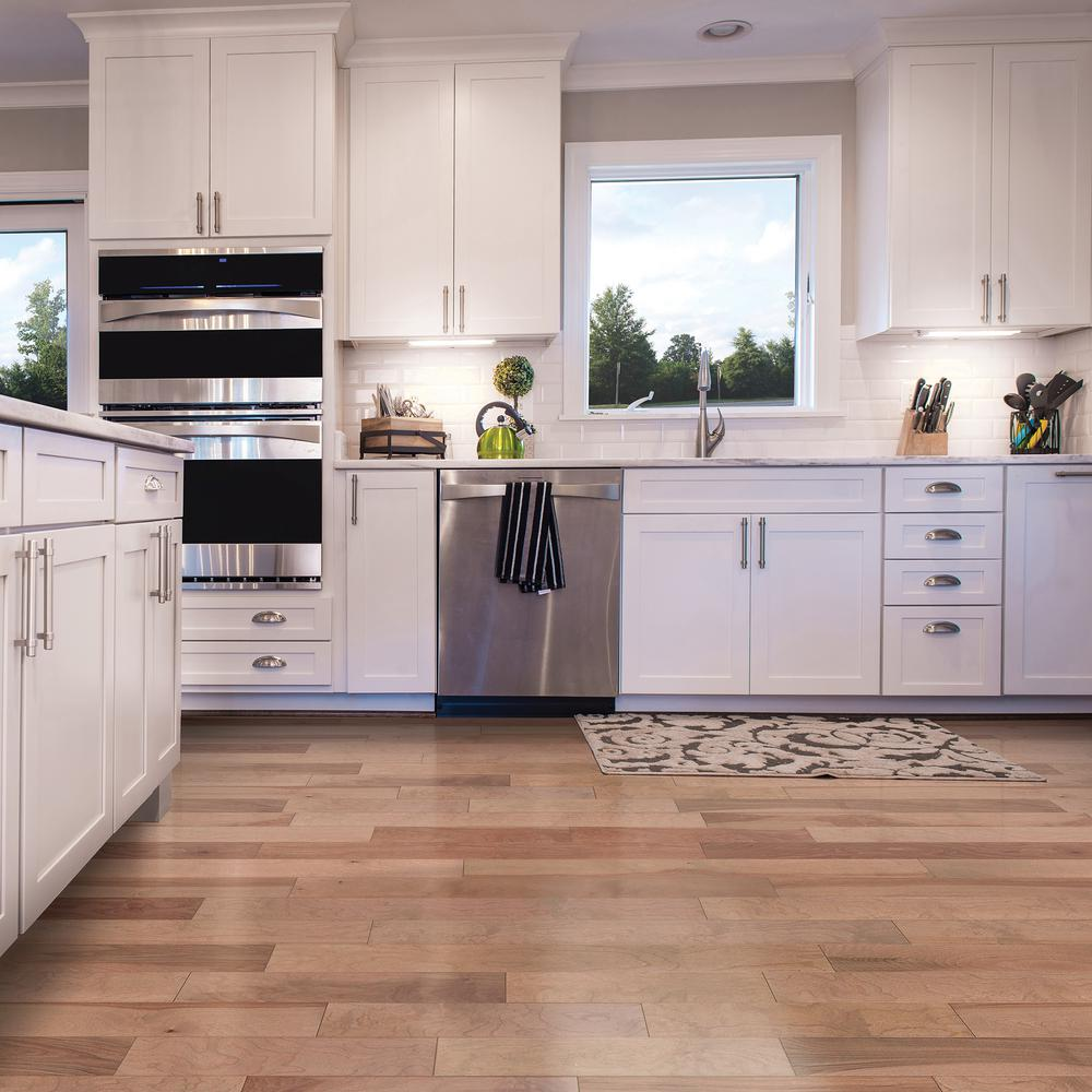 Birch Silvered Engineered Hardwood Flooring Lock Wood Floor 1 99 Sqft