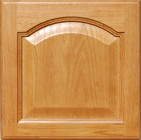 Oak Cathedral Kitchen Cabinets (10'x10' Set), Homeowners ...